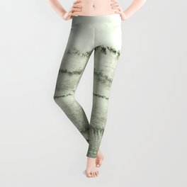 WITHIN THE TIDES - SAGE GREEN by MS  Leggings