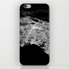 Los Angeles map iPhone Skin