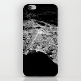 Los Angeles map iPhone Skin