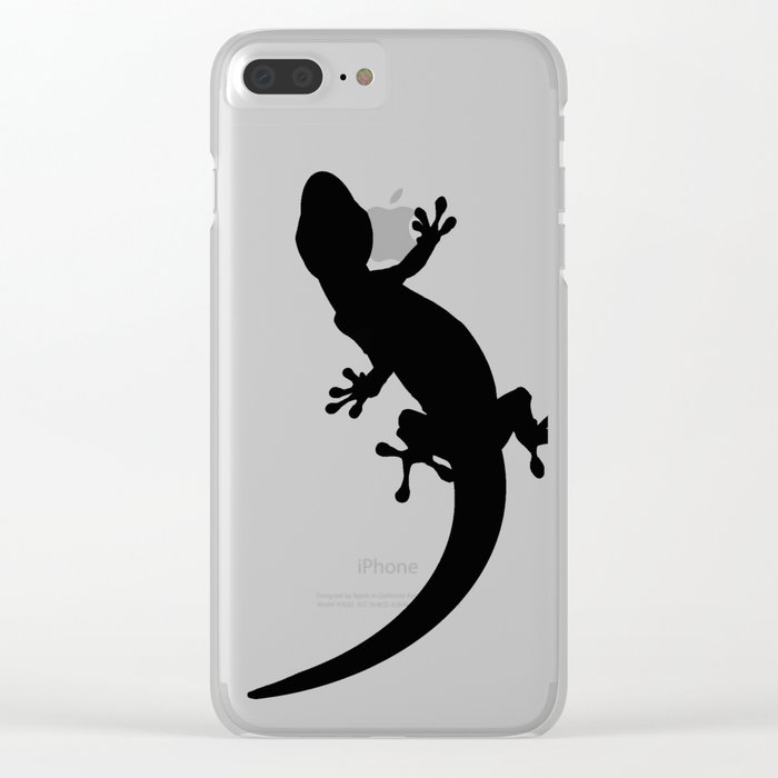 Lizard Clear iPhone Case