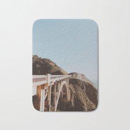 bixby bridge / california Bath Mat