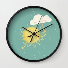 Little Sun Wall Clock