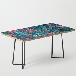 Tropical Ink - a watercolor garden Coffee Table