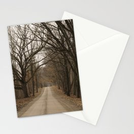Lonely Dirt Road Stationery Cards