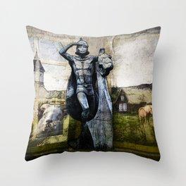 Iceland 3 Throw Pillow