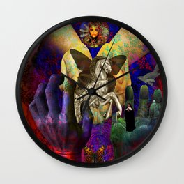 Force of Nature Wall Clock