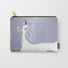 Here Comes The Bride! Carry-All Pouch
