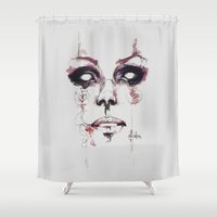 soul Shower Curtains featuring Soul by Bruno Gonçales