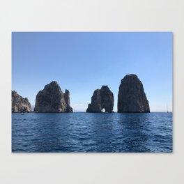 Tunnel of Love, Capri Canvas Print