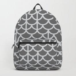 Strict Mermaid Scales Grey Backpack