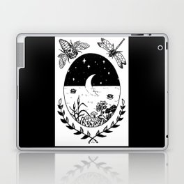Moon River Marsh Illustration Laptop & iPad Skin