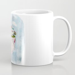 Pink Cup island Coffee Mug