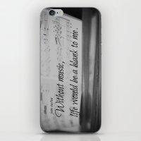 jane austen iPhone & iPod Skins featuring Music Jane Austen by KimberosePhotography