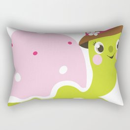 Beautiful kids and baby Drawing Turtle Rectangular Pillow
