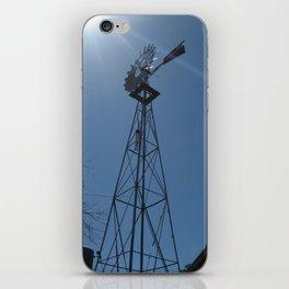 A perfect blue sky II iPhone Skin