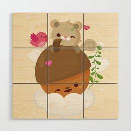 Acorns Are Love Wood Wall Art