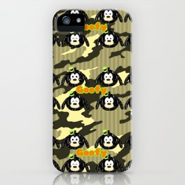 Goofy Pattern iPhone Case