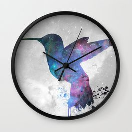 Galaxy Series (Hummingbird) Wall Clock