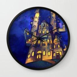 Martin's Castle Wall Clock