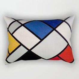 Theo van Doesburg - Contra-Compositions of Dissonances XVI - Abstract De Stijl Painting Rectangular Pillow