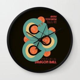 Dragon Ball, japanese print, Toriyama, manga wall art, Son Goku poster Wall Clock