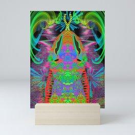 Psychedelic Snake Head Mini Art Print