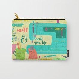 DIY 2017 wall calendar Carry-All Pouch