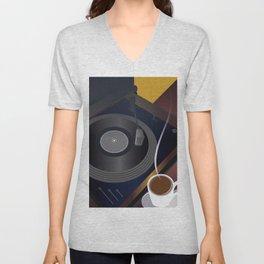 Art Deco 02 Unisex V-Neck