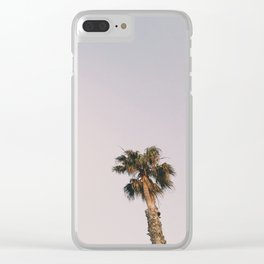 Venice Beach Palm Clear iPhone Case