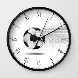 Moving Football Wall Clock