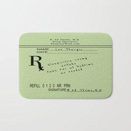 Prescription for Lee Thargic from Dr. B. Ed Thyme Bath Mat