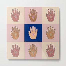 Mystic Hand Metal Print