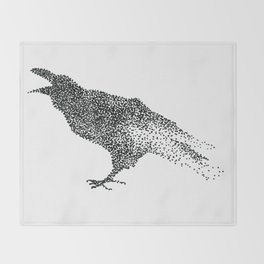 Crow Throw Blanket