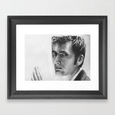 ten goodbye Framed Art Print