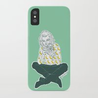 cyrilliart iPhone & iPod Cases featuring Banana Boy by Cyrilliart
