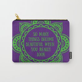 Before I Fall quote - Lauren Oliver Carry-All Pouch