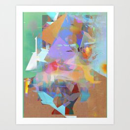 Untitled 20151014k Art Print