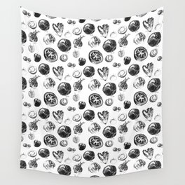 salad pattern Wall Tapestry