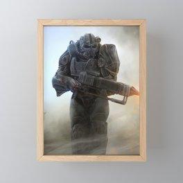 Fallout video game Framed Mini Art Print