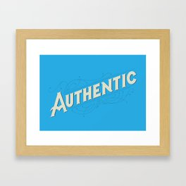 Authentic Framed Art Print