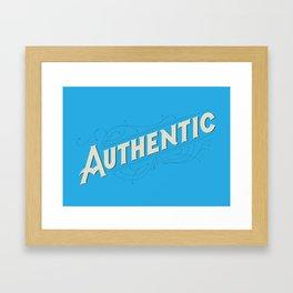 Authentic Framed Art Print
