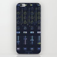paramore iPhone & iPod Skins featuring DJ Mixer by Sitchko Igor