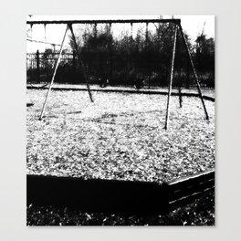 Swing set Canvas Print