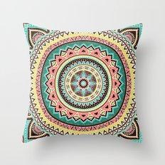 Hippie Mandala 13 Throw Pillow