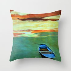 End of the day  Throw Pillow