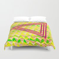triangle Duvet Covers featuring Triangle. by Mr and Mrs Quirynen