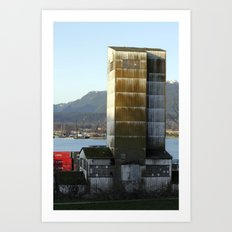 factory abandonment Art Print