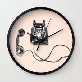 Pick Up Wall Clock