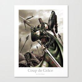 Coup de Grace Canvas Print