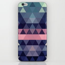 Triangle Space iPhone Skin